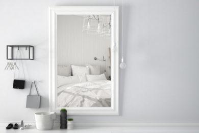 Spiegel anbringen / aufhängen